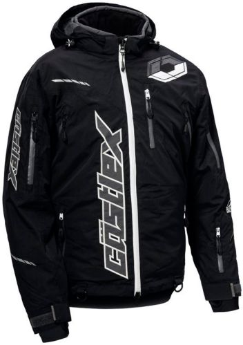 Castle X Stance Snowmobile Jacket, Black/ White, Tall Product image