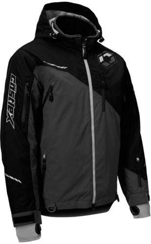 Manteau de motoneige Castle X Stance, noir/gris foncé, long Image de l'article