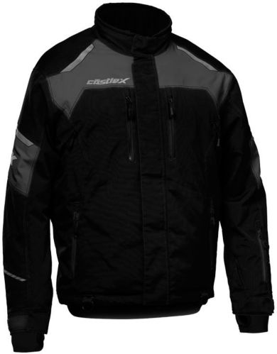 Castle X Polar Snowmobile Jacket, Black/ Charcoal Product image