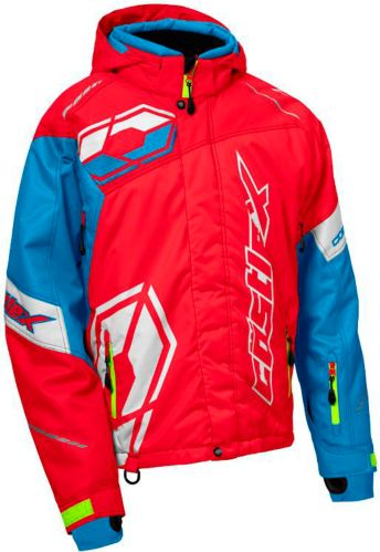 Castle X Code Snowmobile Jacket, Red/ Blue/ White Product image