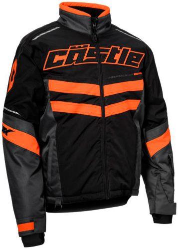 Manteau de motoneige Castle X Strike, noir/orange Image de l'article