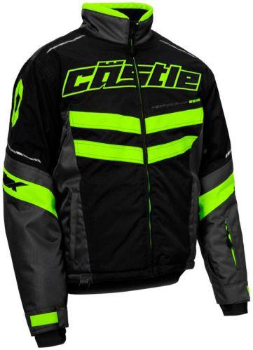 Manteau de motoneige Castle X Strike, h.vis., noir Image de l'article