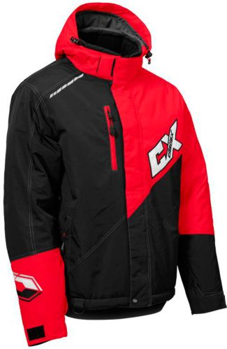 Castle X Phase Snowmobile Jacket, Red/ Black Product image
