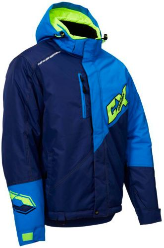 Castle X Phase Snowmobile Jacket, Navy/ Blue Product image