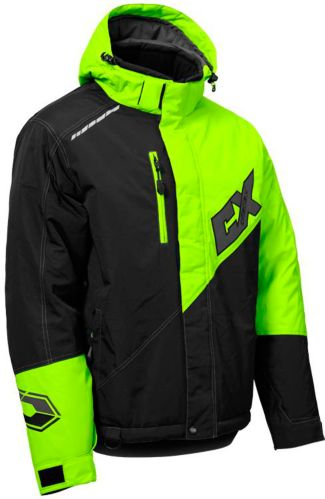 Castle X Phase Snowmobile Jacket Hi-Vis, Black Product image