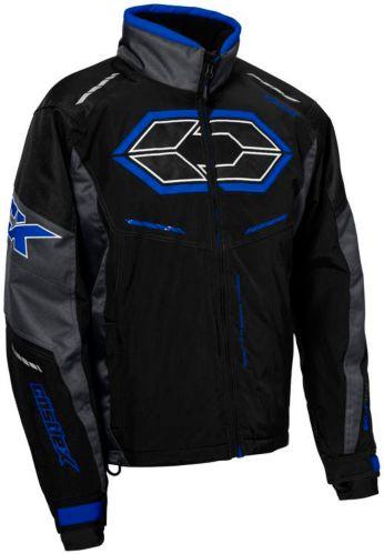 Manteau de motoneige Castle X Blade G4, noir/anthracite/bleu Image de l'article
