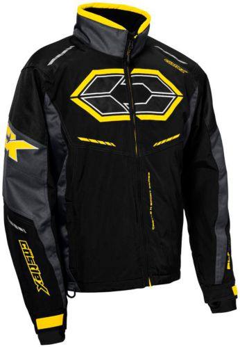 Manteau de motoneige Castle X Blade G4, noir/anthracite/jaune Image de l'article