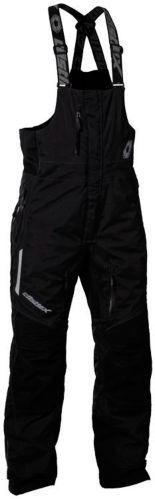 Castle X Men's Polar Snowmobile Bib, Black, Tall Product image