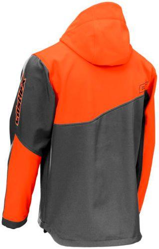 Castle X Men's Barrier G2 Snowmobile Shell, Grey/ Orange Product image