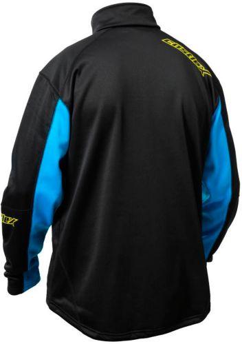 Castle X Men's Fusion G2 Mid-Layer Jacket, Black/ Blue Product image