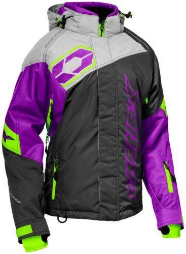 Manteau de motoneige Castle X Code, dames, anthracite/argenté/raisin Image de l'article