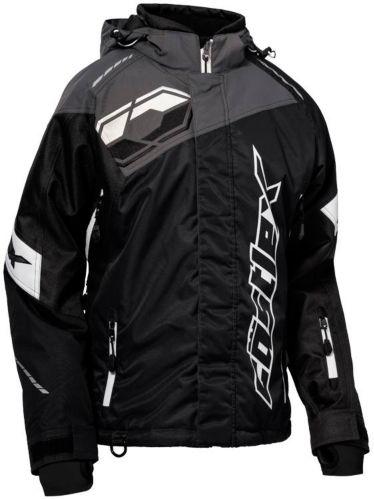 Castle X Women's Code Snowmobile Jacket, Black/ Charcoal/ White Product image