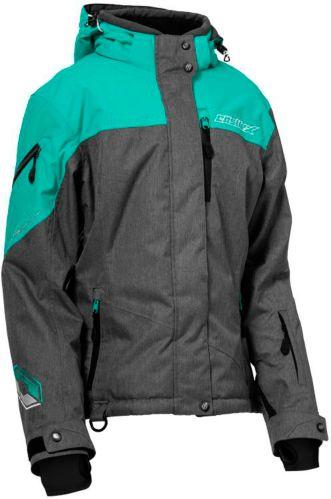 Manteau de motoneige Castle X Powder G2, dames, gris/menthe Image de l'article