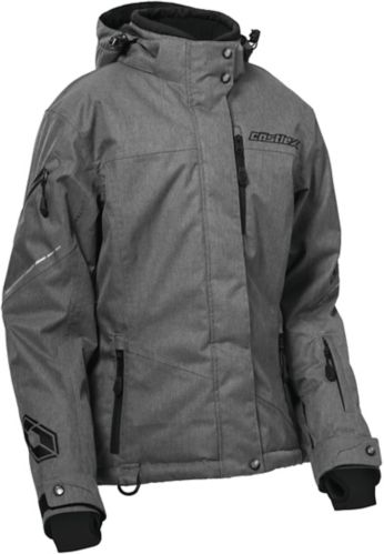 Manteau de motoneige Castle X Powder G2, dames, gris Image de l'article