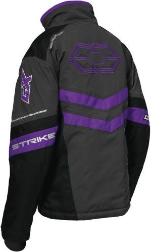 Castle X Women's Strike G2 Snowmobile Jacket, Charcoal/ Black/ Grey Product image