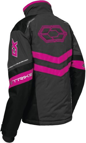 Manteau de motoneige Castle X Strike G2, dames, anthracite/noir/rose Image de l'article