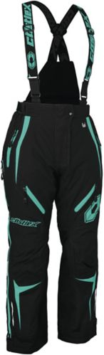 Castle X Women's Fuel G7 Snowmobile Pants, Black/ Mint Product image