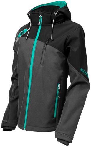 Manteau de motoneige Castle X Barrier G2, dames, gris/menthe Image de l'article