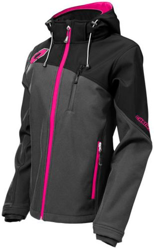 Castle X Women's Barrier G2 Snowmobile Jacket, Grey/ Magenta Product image