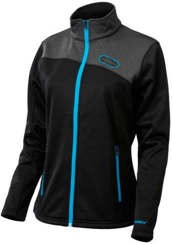 Castle X Women's Fusion G2 Mid-Layer Jacket, Black/ Blue Product image
