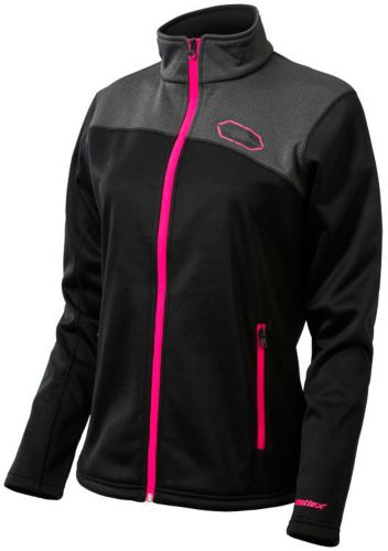 Castle X Women's Fusion G2 Mid-Layer Jacket, Black/ Magenta Product image