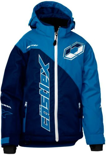 Castle X Youth Stance G2 Snowmobile Jacket, Navy/ Blue Product image