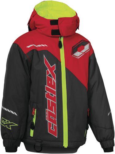 Manteau de motoneige Castle X Stance G2, bambins, anthracite/rouge Image de l'article