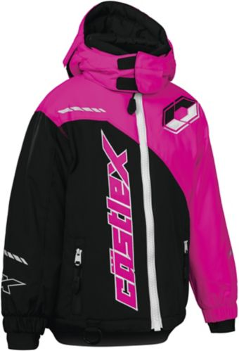 Castle X Toddler Stance G2 Snowmobile Jacket, Black/ Pink Product image