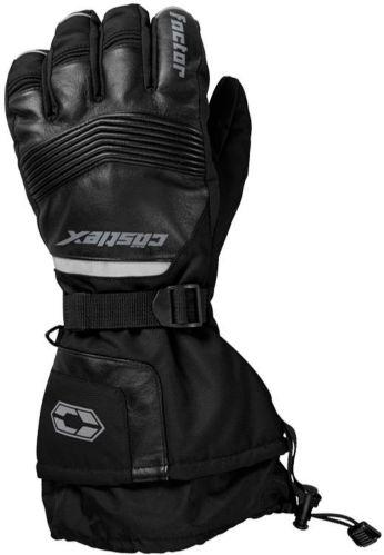 Castle X Men's Factor Snowmobile Gloves, Black Product image