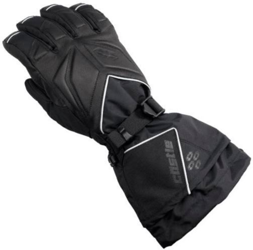 Castle X Women's TRS Snowmobile Gloves, Black Product image