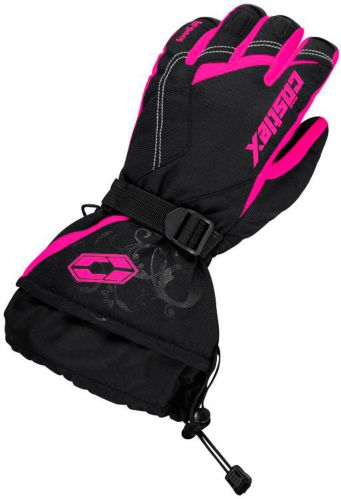 Castle X Women's Legacy Snowmobile Gloves, Pink Product image