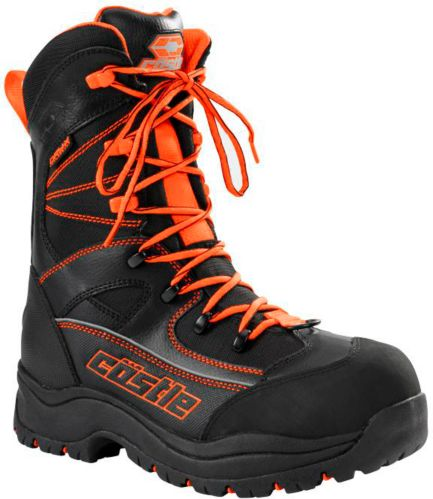 Castle X Men's Force 2 Snowmobile Boots, Orange Product image
