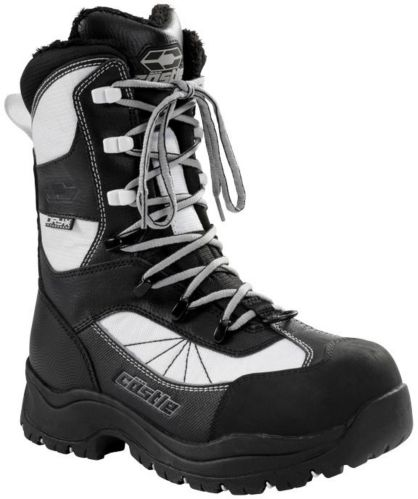 Castle X Women's Force 2 Snowmobile Boots, White Product image