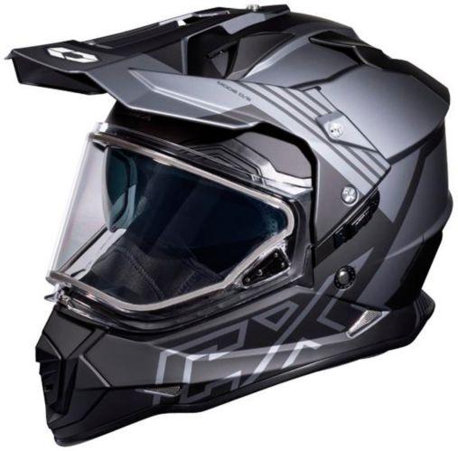 Castle X Mode Dual-Sport SV Agent Helmet, Matte Charcoal Product image