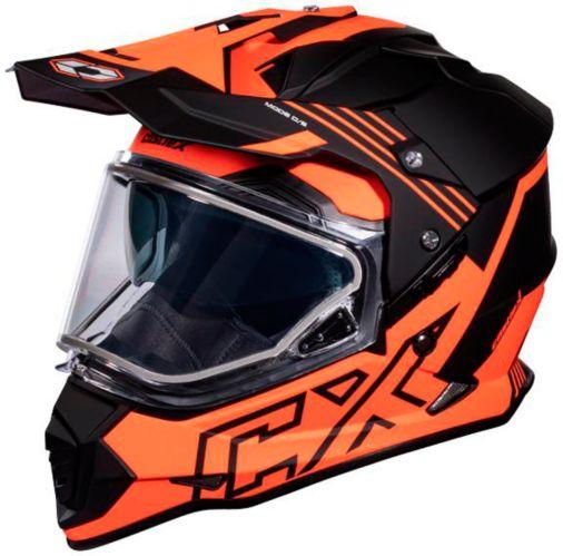 Castle X Mode Dual-Sport SV Agent Helmet, Matte Orange Product image