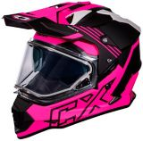 Castle X Mode Dual-Sport SV Agent Helmet, Matte Pink | Castle Xnull