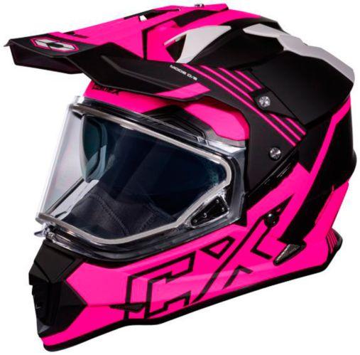 Castle X Mode Dual-Sport SV Agent Helmet, Matte Pink Product image