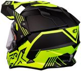 Castle X Mode Dual-Sport SV Agent Helmet with Electric Shield, Matte Hi-Vis | Castle Xnull