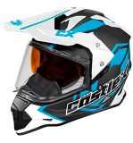 Casque Castle X Mode Dual-Sport SV Team, bleu mat | Castle Xnull