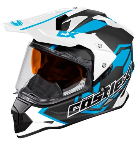 Casque Castle X Mode Dual-Sport SV Team, bleu mat Image de l'article