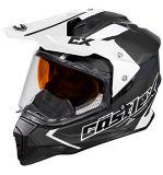 Castle X Mode Dual-Sport SV Team Helmet, Matte Black | Castle Xnull