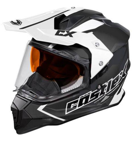 Castle X Mode Dual-Sport SV Team Helmet, Matte Black Product image