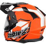Castle X Mode Dual-Sport SV Team Helmet, Matte Orange | Castle Xnull
