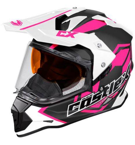 Castle X Mode Dual-Sport SV Team Helmet, Matte Pink Product image