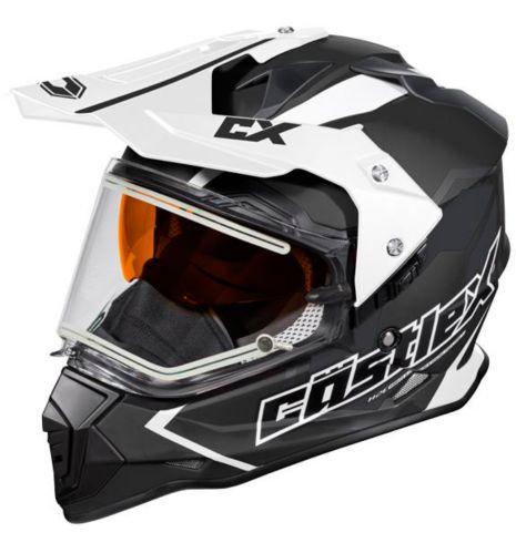 Castle X Mode Dual-Sport SV Team Helmet with Electric Shield, Matte Black Product image