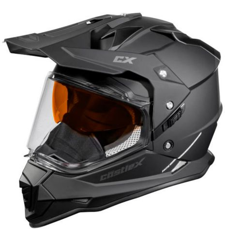 Castle X Mode Dual-Sport SV Helmet, Black Product image