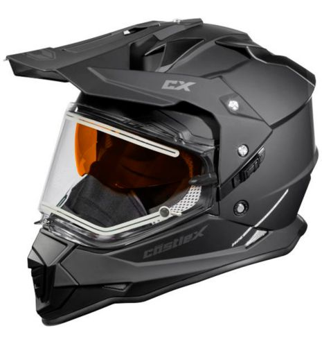 Castle X Mode Dual-Sport SV Helmet with Electric Shield, Black Product image