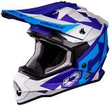 Castle X Mode MX Flow Helmet, Matte Blue/Navy   Castle Xnull