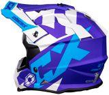 Castle X Mode MX Flow Helmet, Matte Blue/Navy | Castle Xnull
