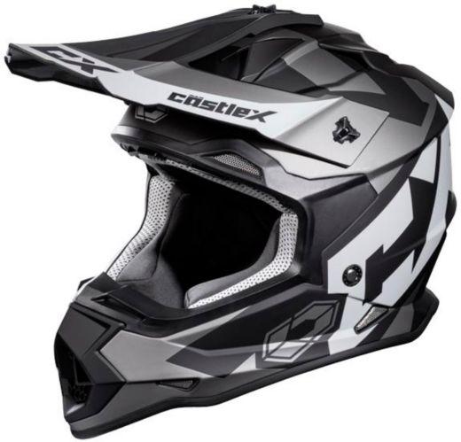 Castle X Mode MX Flow Helmet, Matte Charcoal Product image